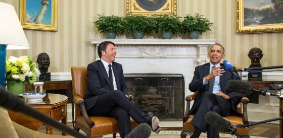Renzi senza interprete da Obama: su Lo Porto non si sono capiti?