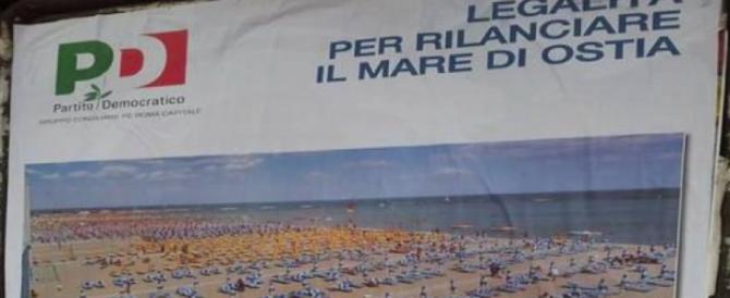 Pd all'ultima spiaggia: sui manifesti mettono Rimini e dicono che è Ostia