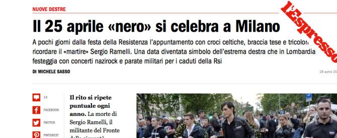 """Ramelli non era un martire: il colpo basso dell'Espresso """"spiegato"""" così…"""