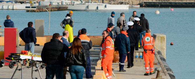 Civitanova Marche, affonda un peschereccio: due morti e due dispersi
