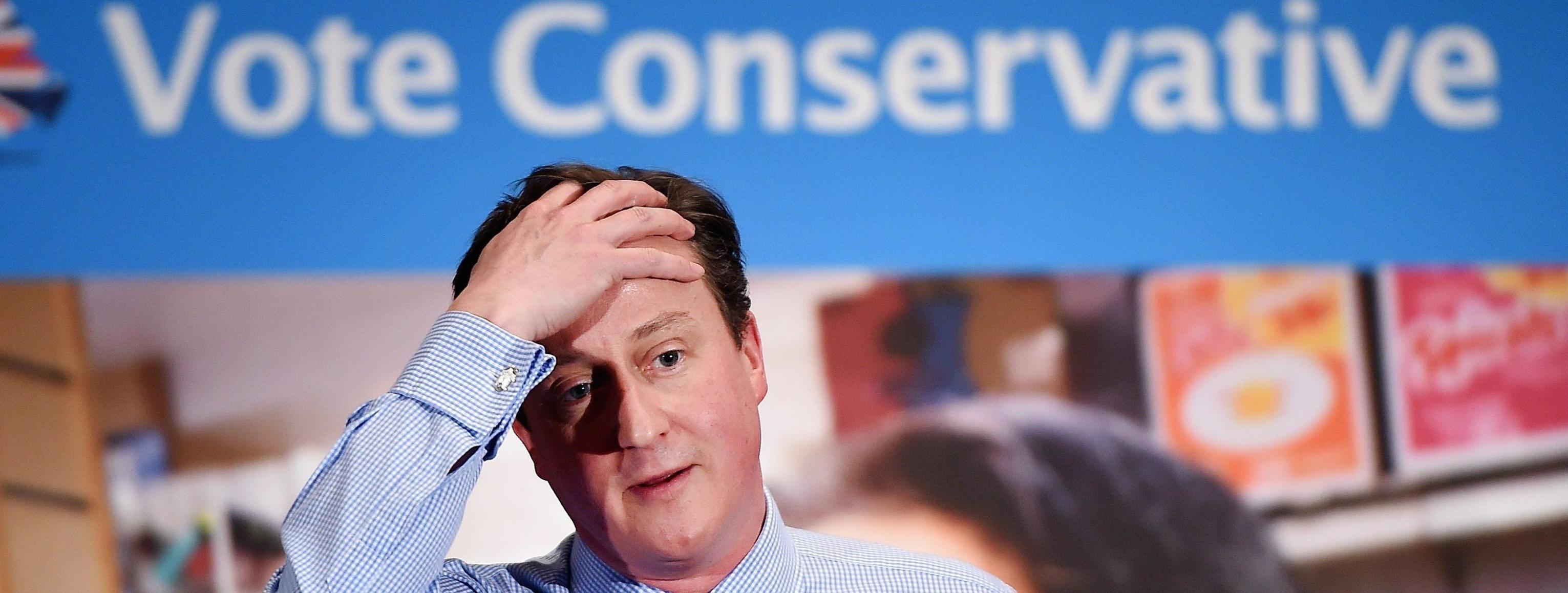 Il premier David Cameron