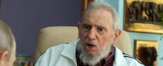 Cuba, Fidel Castro è vivo: riappare in pubblico dopo oltre un anno