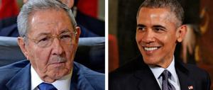 Obama incontra Castro: si chiude l'ultimo capitolo della guerra fredda