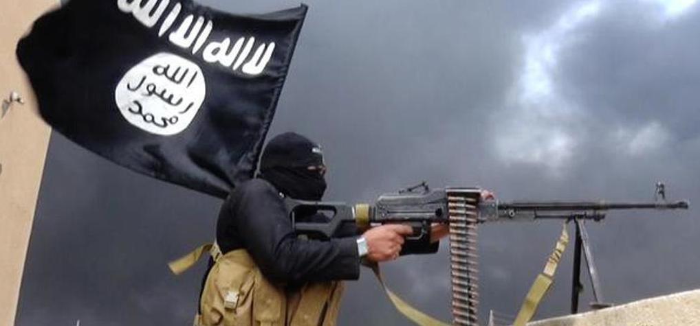 Un combattente dell'Isis