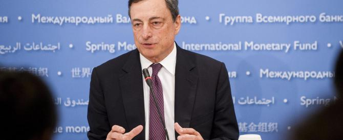 Draghi: dalla Bce sforzi straordinari, risposte deludenti da Italia e Francia