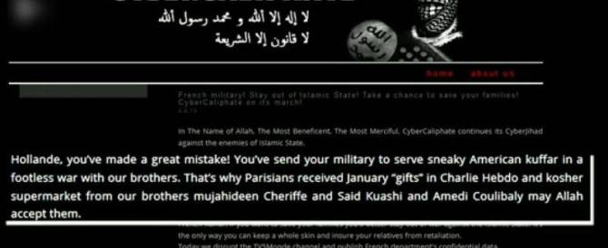 Attacco senza precedenti degli hacker dell'Isis: tv francese oscurata