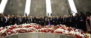 Putin e Hollande in Armenia. I ministri italiani non sanno ancora se andare