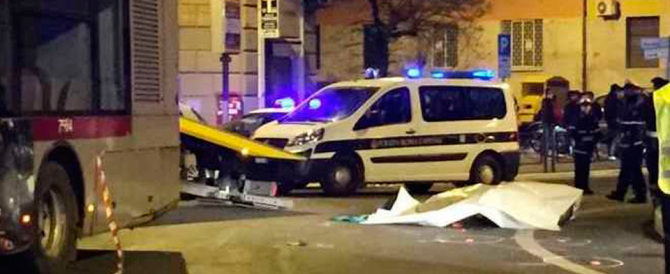 Tragedia a Roma, muore un ragazzo travolto da un autobus a piazza Istria