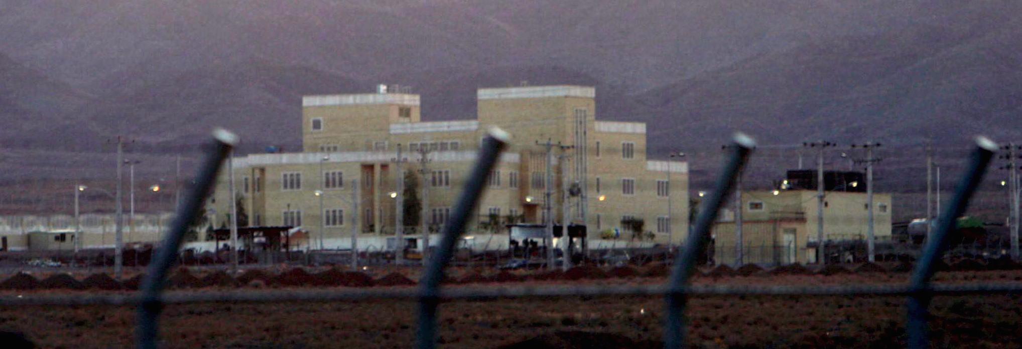 L'impianto nucleare iraniano di Natanz
