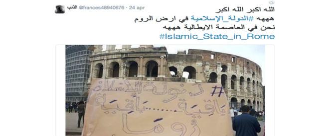 """L'Isis scatta """"selfie"""" a Roma ma il prefetto è sereno: «Segni di debolezza»"""