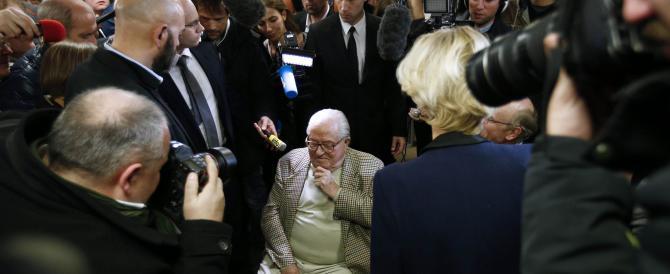 Vince Marine, Jean-Marie Le Pen getta la spugna: «Va bene, non mi candido»