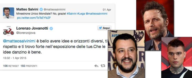 Jovanotti dialoga con Salvini: arriva Fedez e li accusa di razzismo…