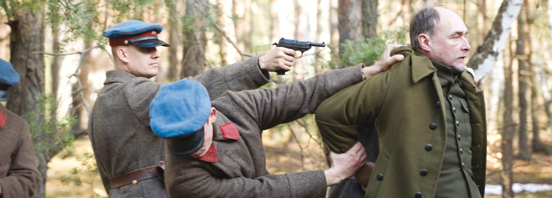 Una scena di Katyn di Wajda