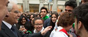 Mattarella a Milano: «Nella Resistenza anche violenze e reticenze»