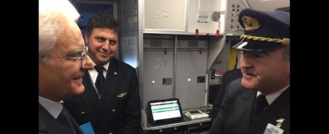 """Positivo all'alcol-test: nuovi guai per il pilota Alitalia """"di Mattarella"""""""
