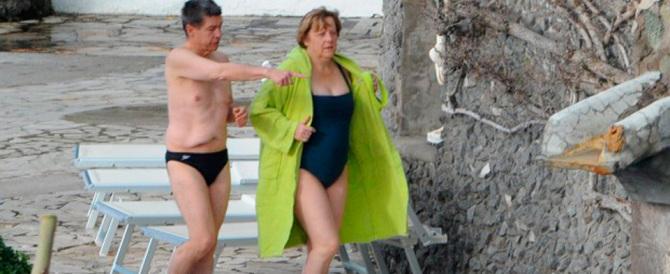 Angela Merkel a Ischia. Pasqua di terme e relax per la cancelliera di ferro