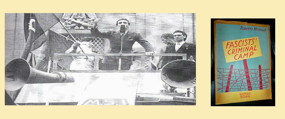 Mieville in un comizio nel 1948