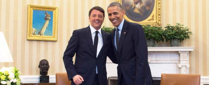 """Il """"tu"""" di Renzi a Obama: quella gaffe di """"Repubblica"""" degna dell'Istituto Luce"""