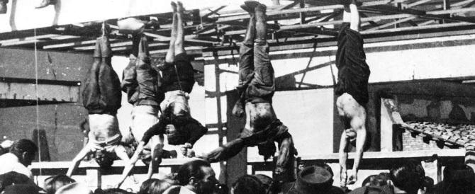 """A Mattarella piace l'antifascismo da museo, ma piazzale Loreto fu """"atto barbaro"""""""