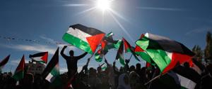 25 aprile a Roma, a sinistra diventano un caso le bandiere filo-Palestina