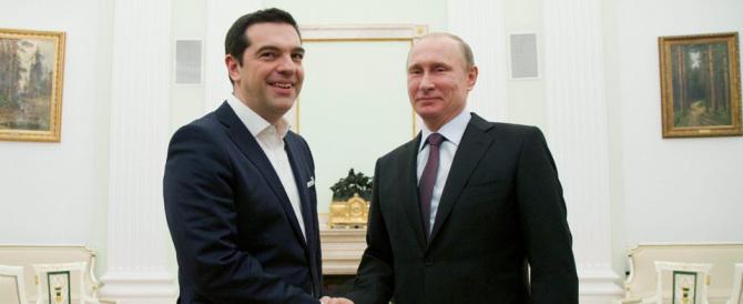 Russia/Grecia: Putin riceve Tsipras che adesso spaventa l'Eurozona