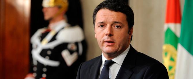 Renzi difende le epurazioni: «Le decisioni non si discutono»