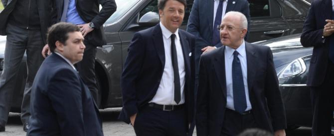 Altro che Jobs Act, Renzi a Pompei scopre i licenziamenti Whirlpool