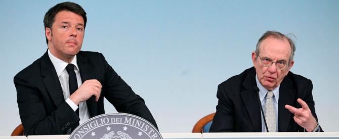Def, Renzi si vanta: non ci sono nuove tasse. Ci penseranno i sindaci…