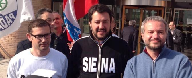 """Salvini felice: """"E' il riscatto di tutti gli italiani che non sono di sinistra"""""""