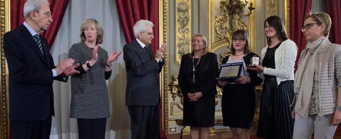 Storace: «Mattarella faccia un bel gesto, porti un fiore a Piazzale Loreto»