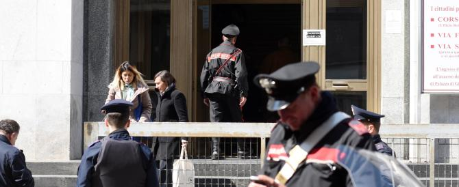 La strage della vergogna: nel tribunale di Milano si entra con la pistola