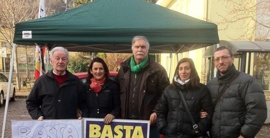 Trento, consigliere della Lega Nord: «Io aggredito in piazza dagli anarchici»