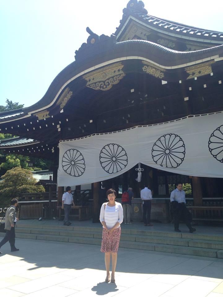 Akie Abe al Santuario Yasukuni