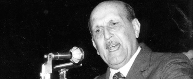 Un parlamentare si dimise e non volle il vitalizio: fu il missino Enrico Endrich