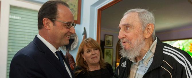 """La """"love story"""" con Fidel Castro mette nei guai Hollande: «Ma sai chi è?»"""