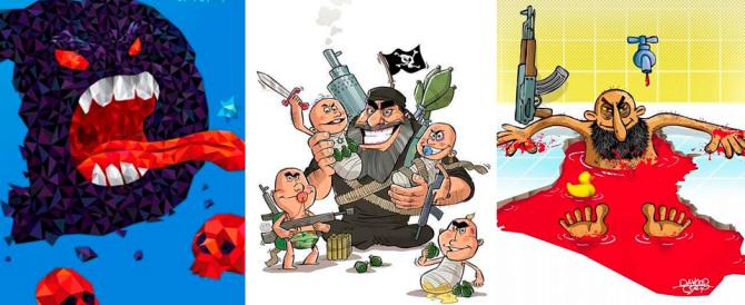 Iran, l'attacco all'Isis anche con la satira: l'ironia musulmana sul Califfo