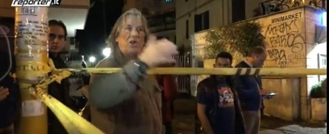 A Boccea esplode la rabbia dei romani: via i rom dall'Italia (Video)