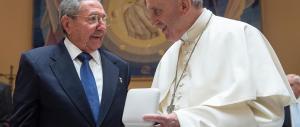 Storico incontro tra Castro e papa Francesco. Ma i diritti umani?