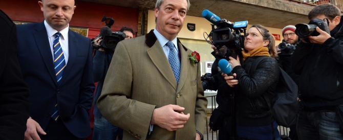 La lezione inglese di Farage: «Ho perso le elezioni e mi dimetto»