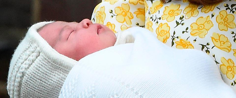 La royal baby si chiama Charlotte Elizabeth Diana: una furbata reale