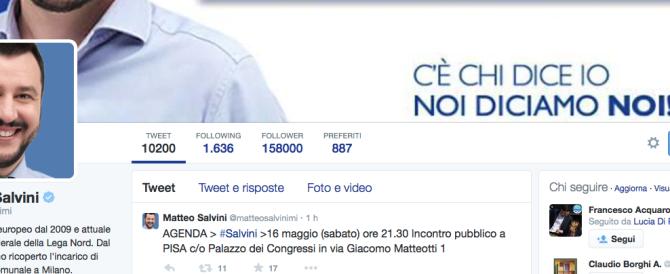 Basta tweet di Salvini e Renzi, ridateci le vecchie tribune politiche