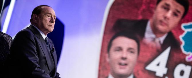 """Berlusconi a Renzi: «Io biglietto scaduto? E tu sei un """"portoghese""""»"""