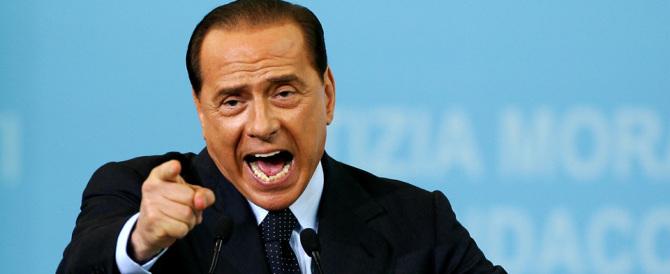 """Berlusconi: """"Basta violenze, siamo invasi. Ci vuole l'esercito"""""""