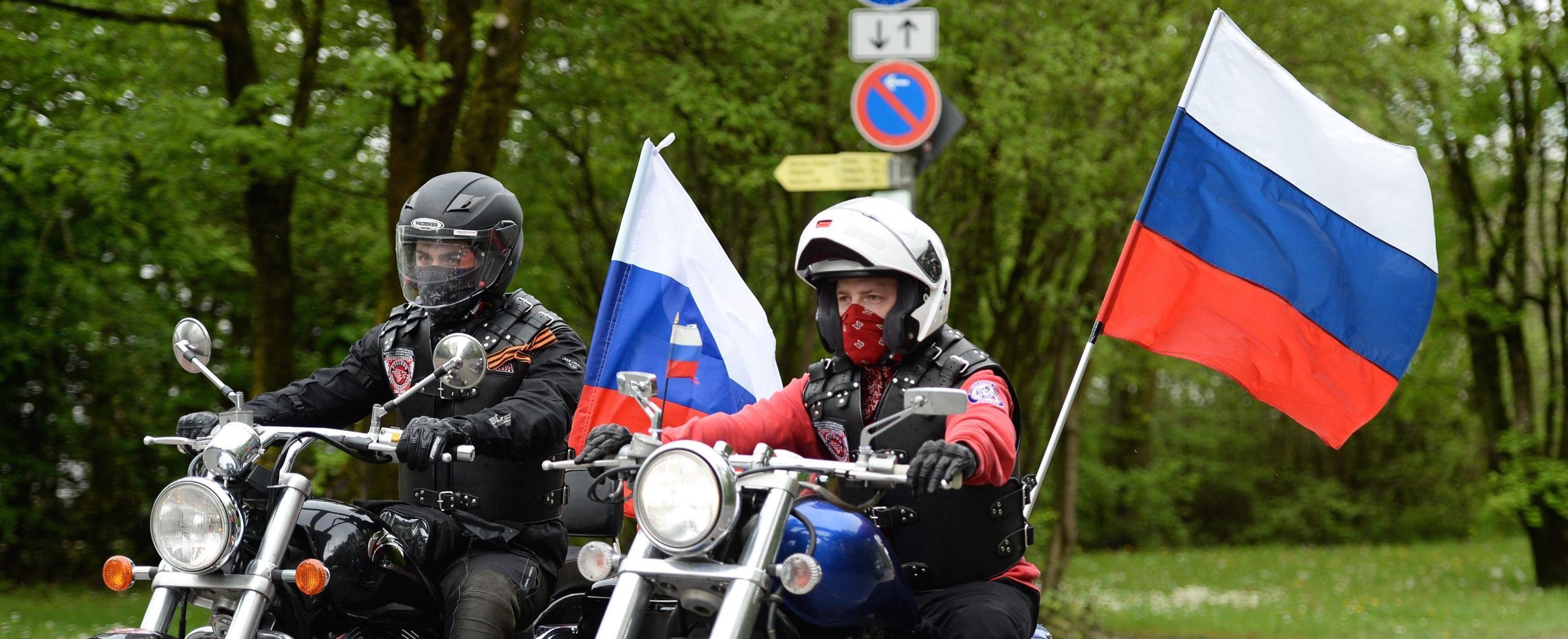 Una manifestazione pro Putin