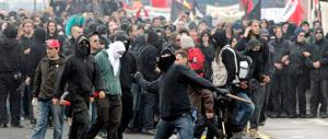 I cinque black bloc francesi restano in galera, senza se e senza ma
