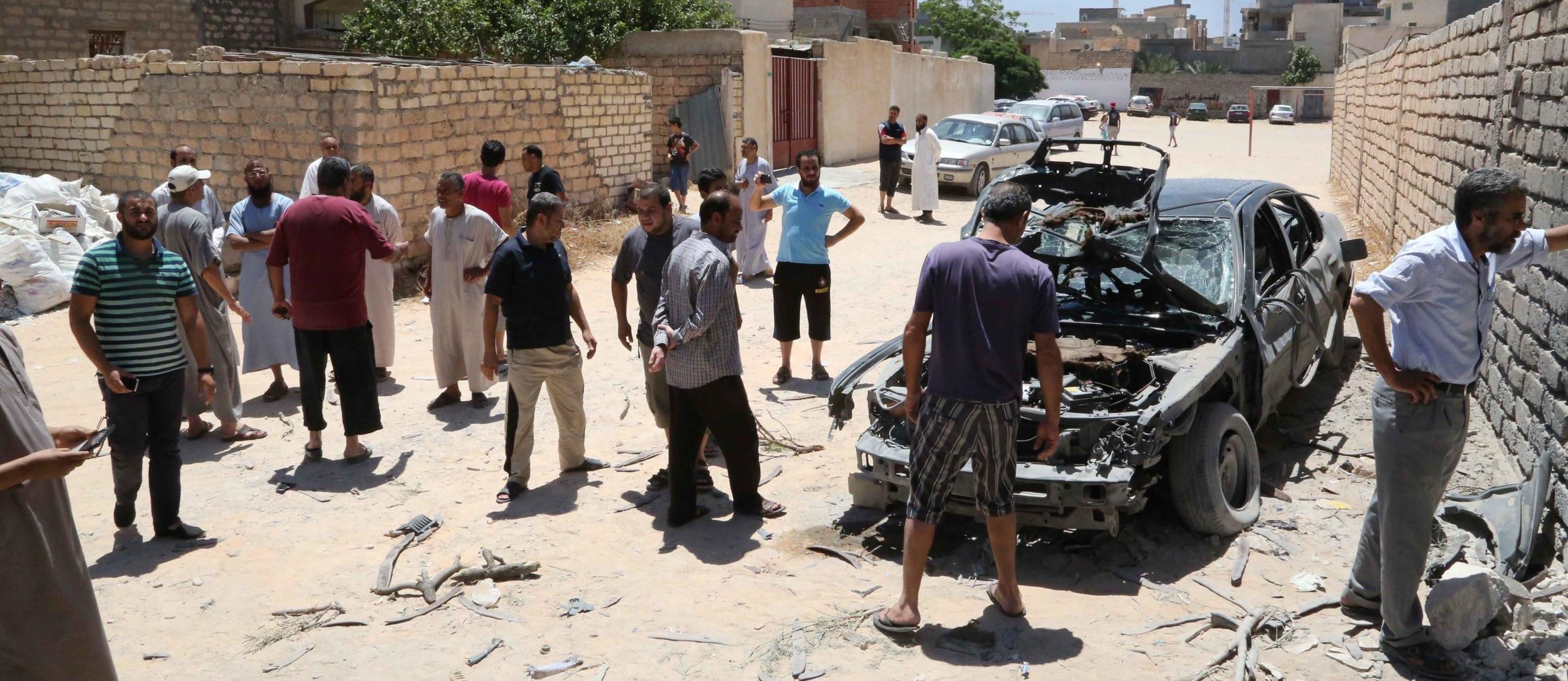 Bomba a Bengasi