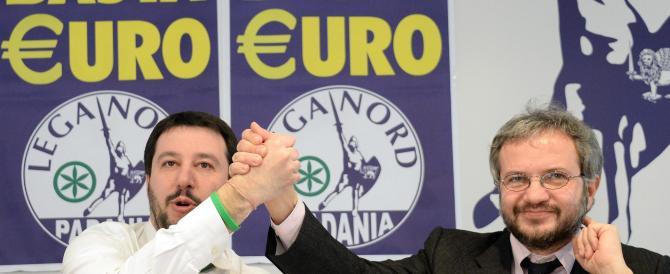 """Salvini: """"Io premier. Il mio ministro dell'Economia? Borghi o Bagnai"""""""