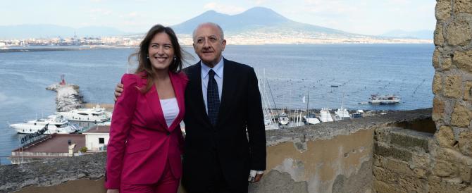 """Boschi e De Luca """"core a core"""": il tramonto napoletano del renzismo"""