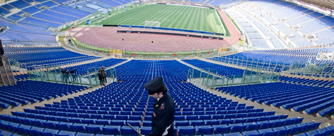 Derby Lazio-Roma, 1700 i poliziotti in campo. Lunedì Capitale blindata