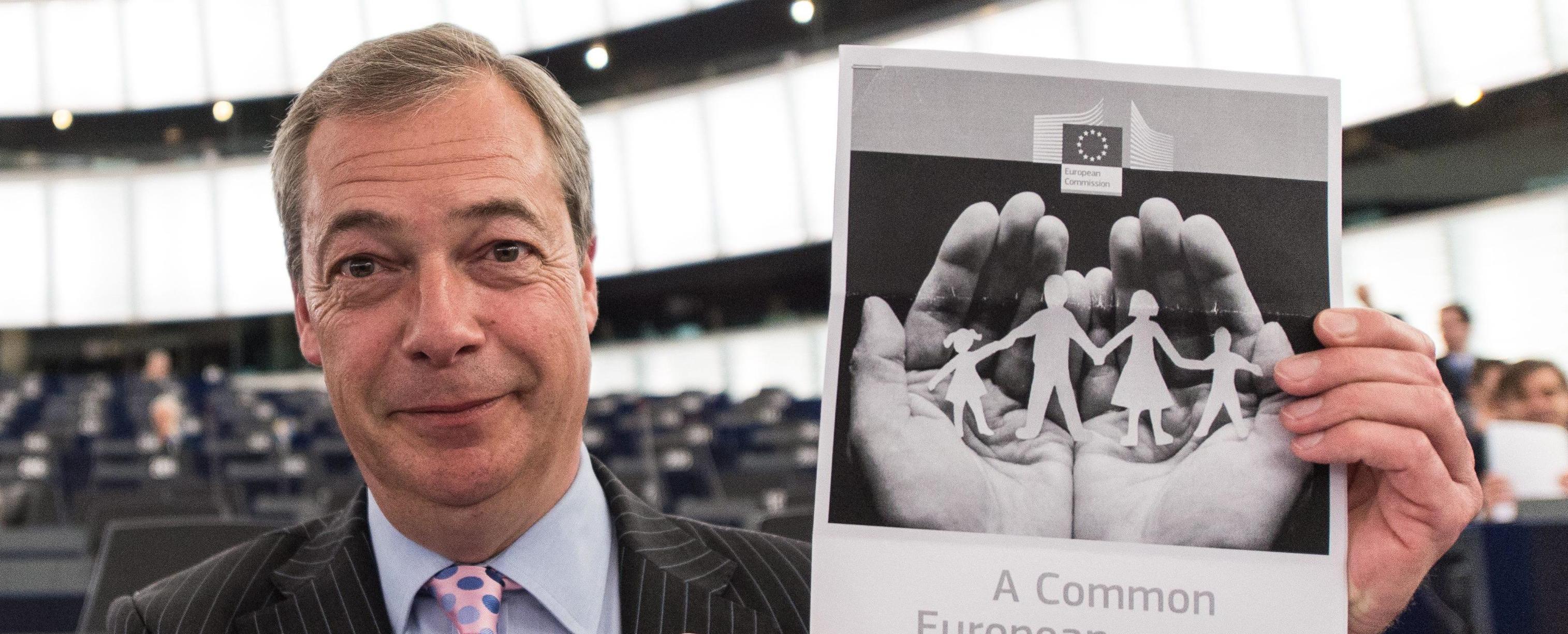 Il leader dell'Ukip Nigel Farage